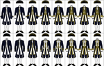 Uniforms of the Royal Navy, 1748-1767