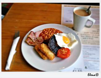English-Scottish breakfast by florpurpura