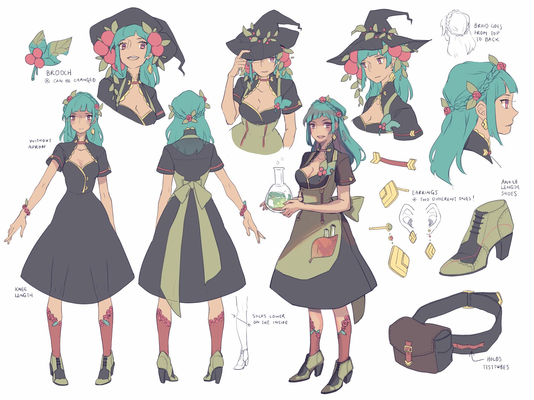 Character Design An Artist Resource : Ee lucie ref by onedayfour on deviantart