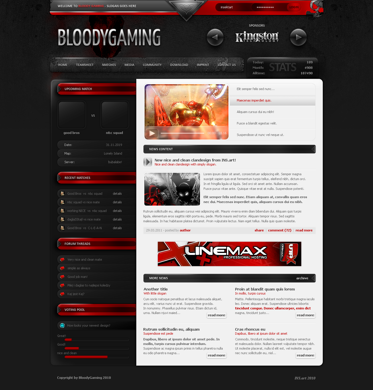 BloodyGaming by INSEKTart