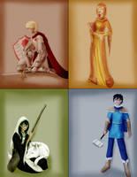 Medievalstuck: Beta Kids by Oreramar