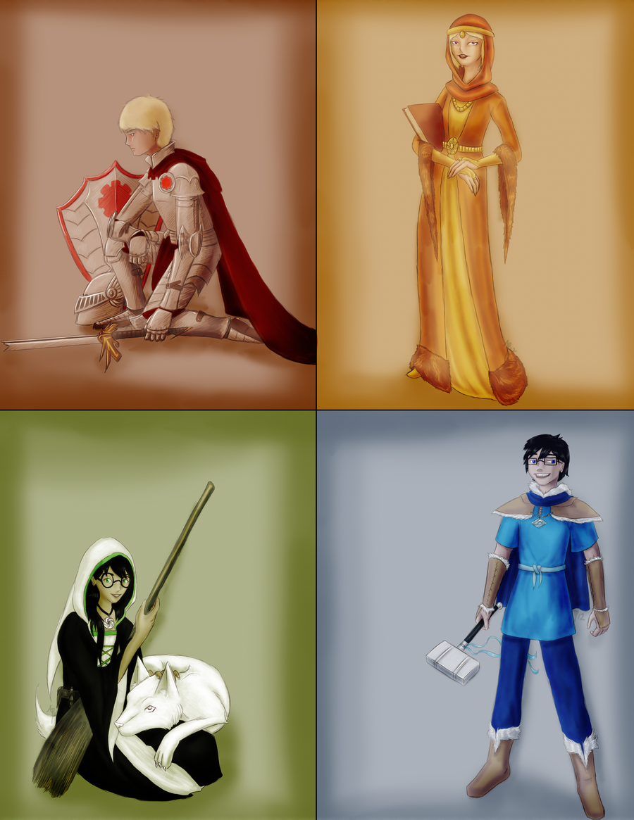 Medievalstuck: Beta Kids by Oreramar