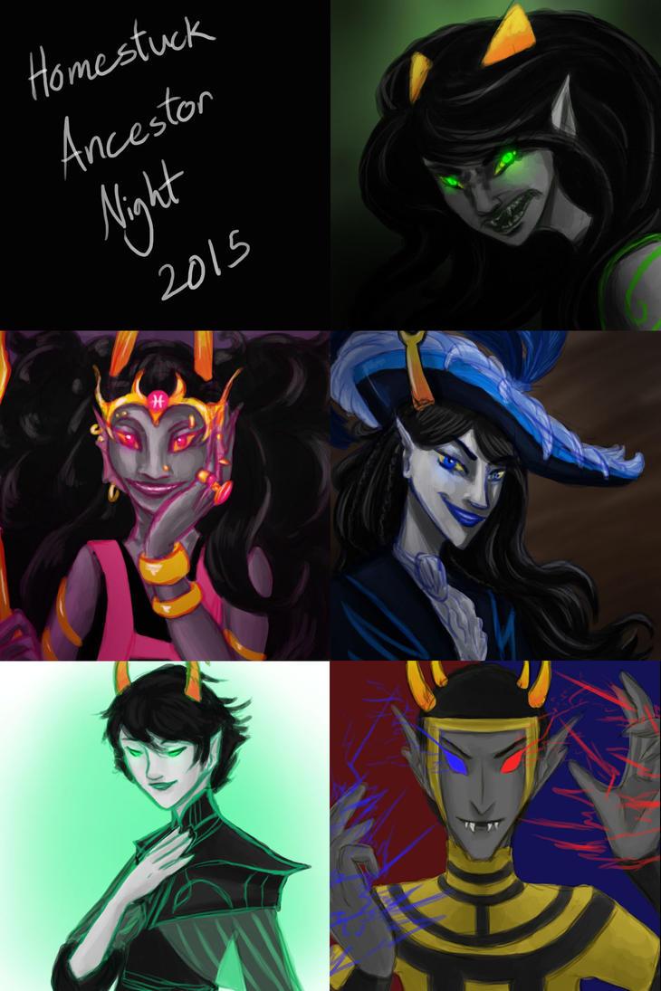 Homestuck Ancestor Night 2015 Compilation by Oreramar