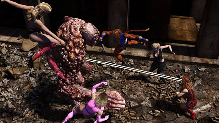 Versus the Abomination by Vagrant3D