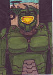 Master Chief Trading Card