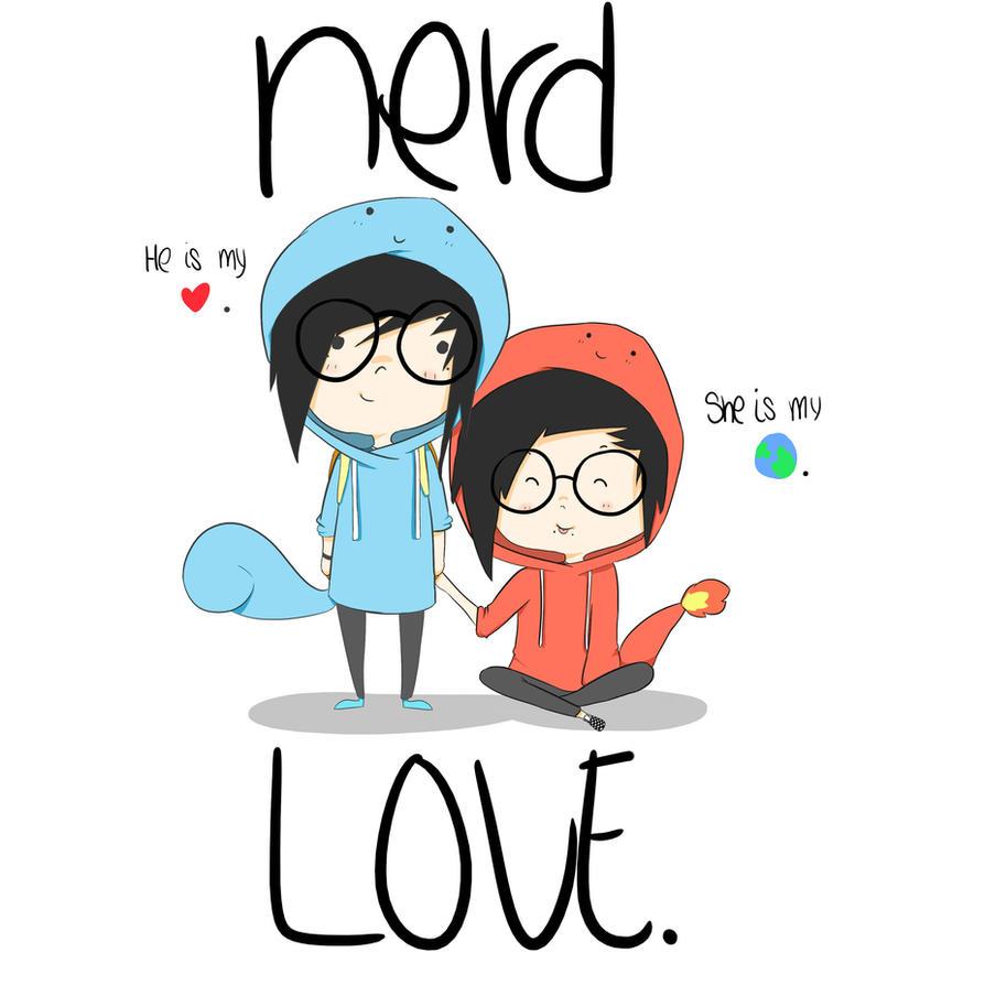 Nerd Love by Burnleft on DeviantArt