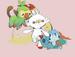 Be the best that you can be (Pokemon Sword/Shield) by Yolkghost