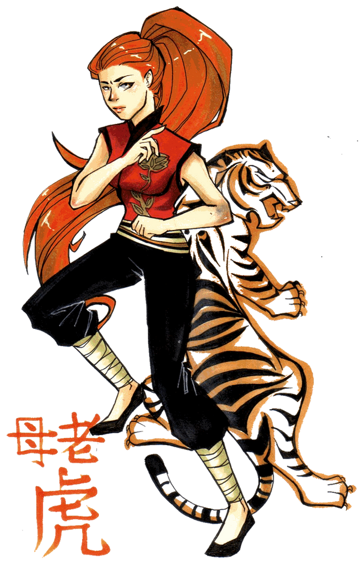 Tigress- Kung Fu Panda by Glory-Day on DeviantArt