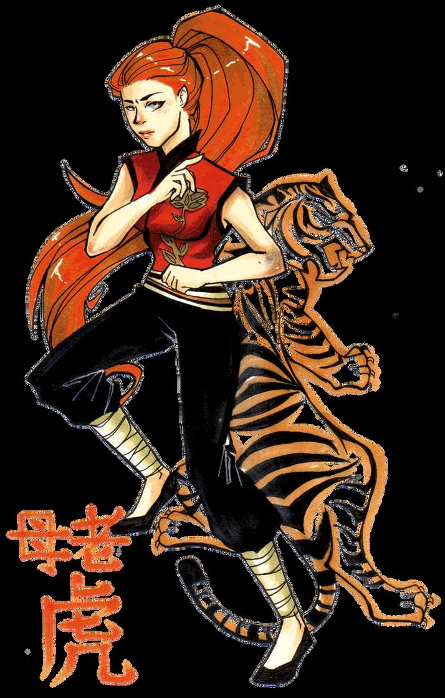 Tigress- Kung Fu Panda by Glory-Day on DeviantArt