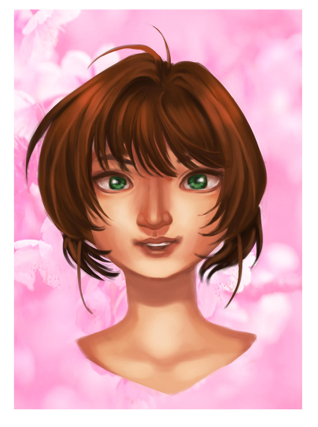 Cardcaptor Sakura Bust by Glory-Day