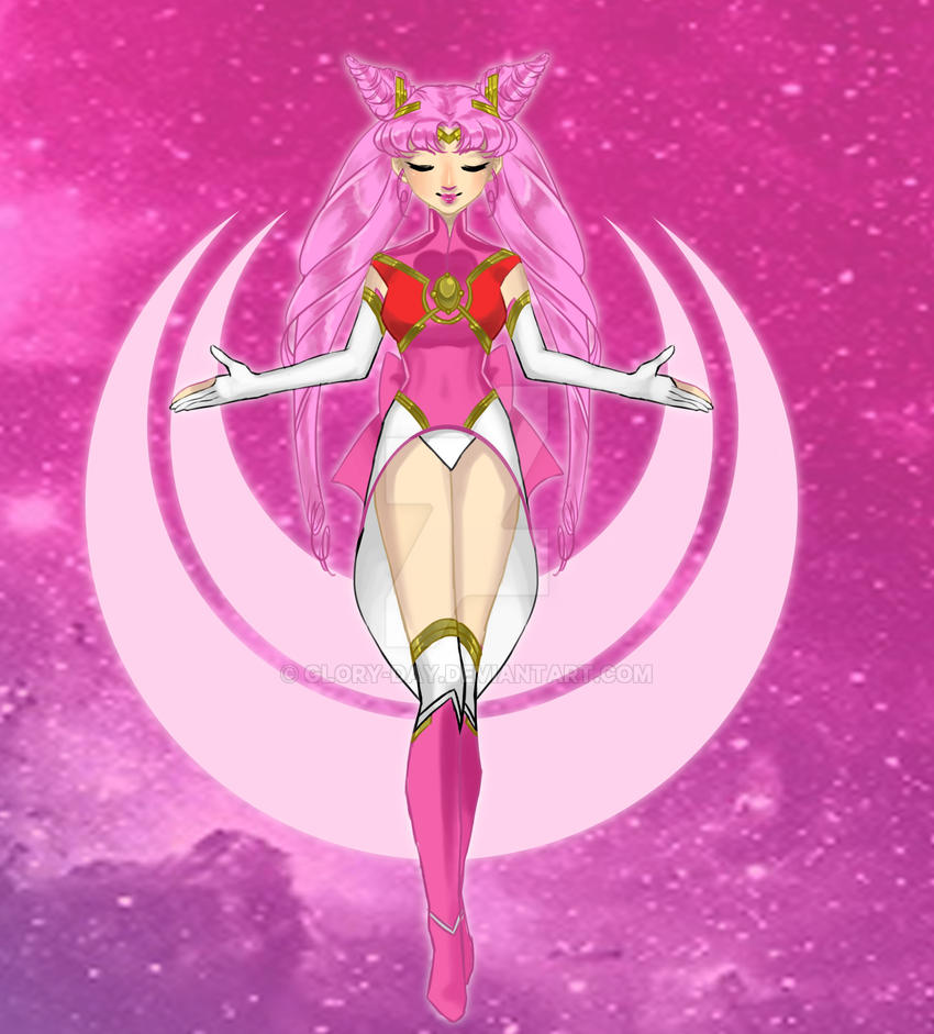 Sailor Mini Moon Infinity by Glory-Day