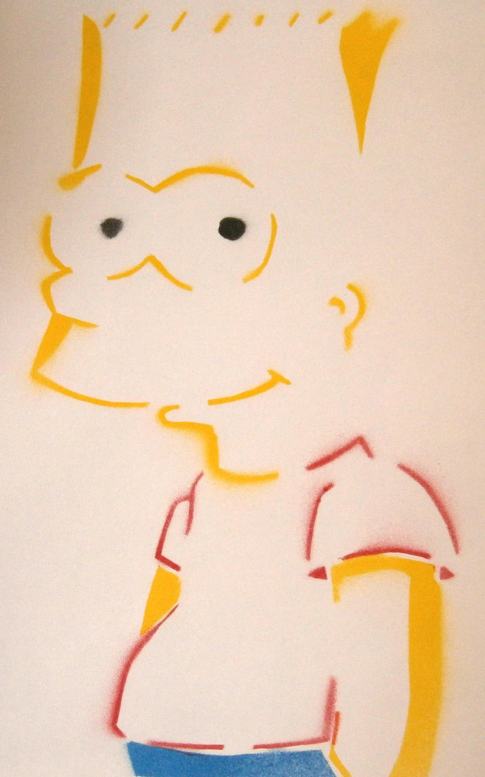 Bart Simpson by Samball49
