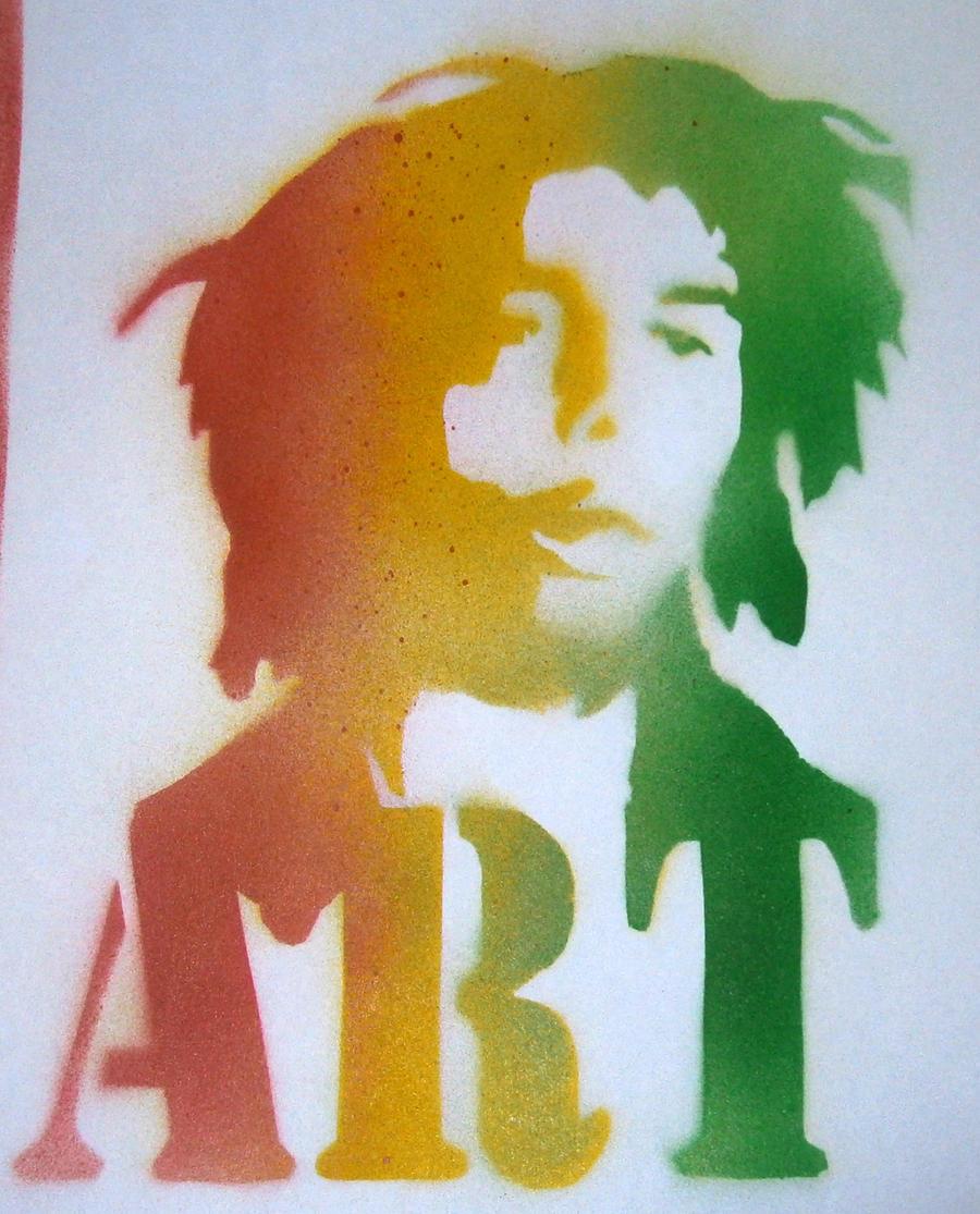 Bob Marley by Samball49