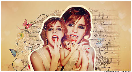 emma watson blend by colourful-pencil