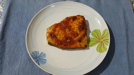 Pesce spada al guazzetto/Swordfish w sauce