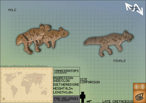 Jurassic Park: New World // Yamaceratops