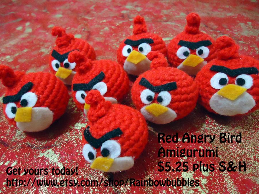 Tutorial Amigurumi Angry Bird : How to crochet angry bird hat kids diy tutorial crochetgeek the