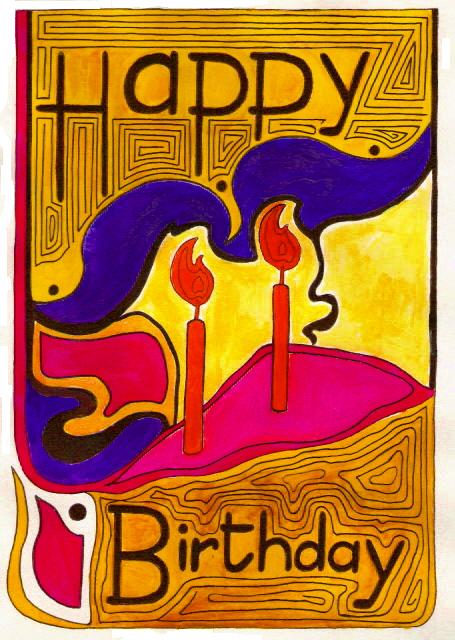 Art Nouveau Birthday by jhaumann