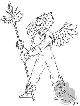Commission#22:Bird