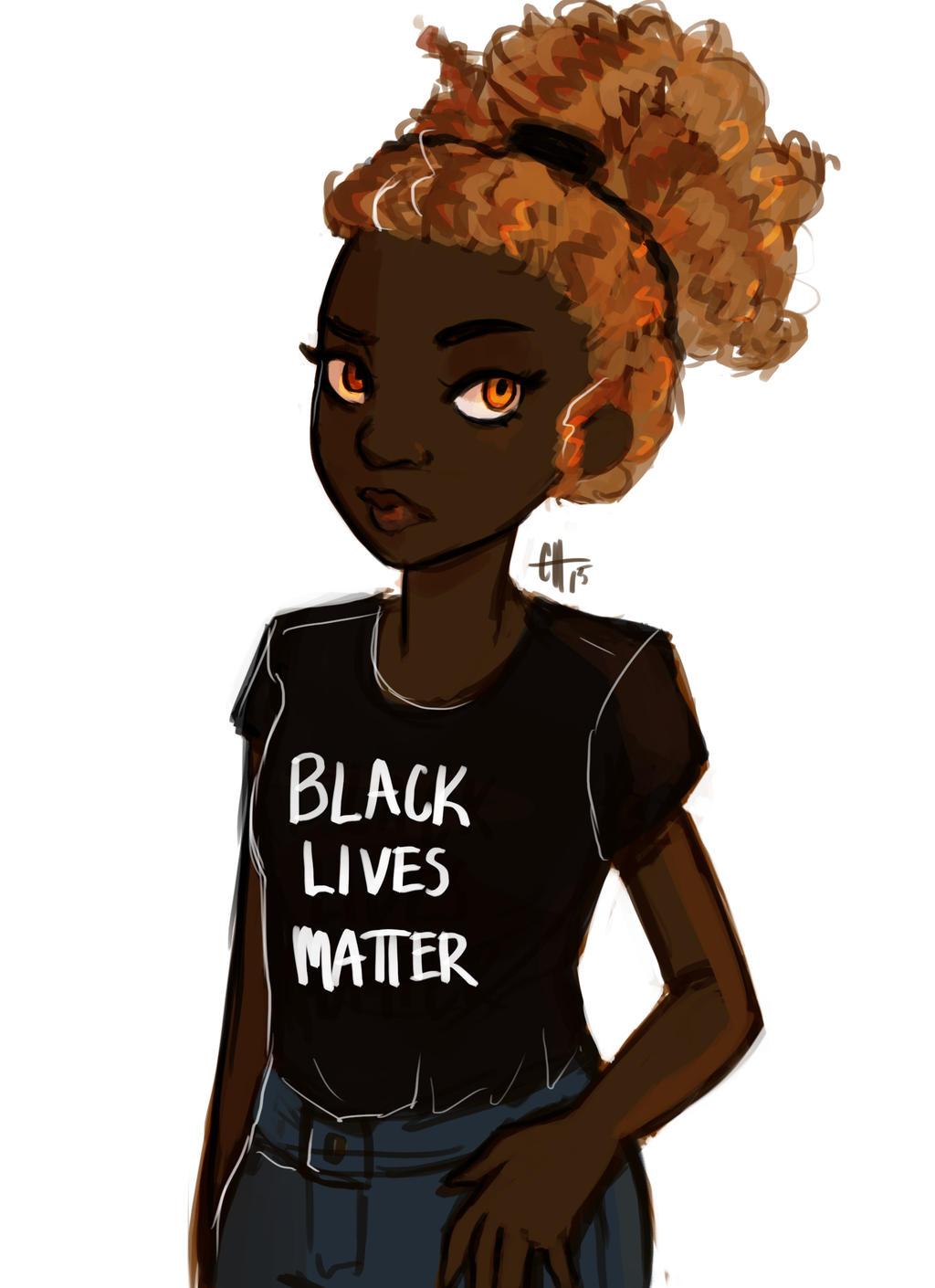 Hazel Levesque Black Lives Matter By Readlikemad On