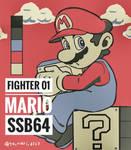 Smash Tribute Fighter No.1 Mario