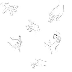 Hand sketches