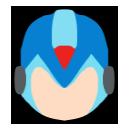 Mega Man X - Custom Smash Ult Icon by Ender-Creep