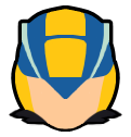 Megaman.EXE - Custom Smash Ult Icon by Ender-Creep