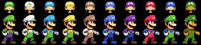 Super Smash Bros. Delta - Luigi