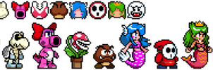[EX] Super Smash Bros. Delta - Mario Enemies