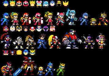 [EX] Super Smash Bros. Delta - Mega Man Set