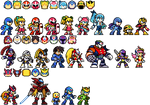 [EX] Super Smash Bros. Delta - Mega Man Set