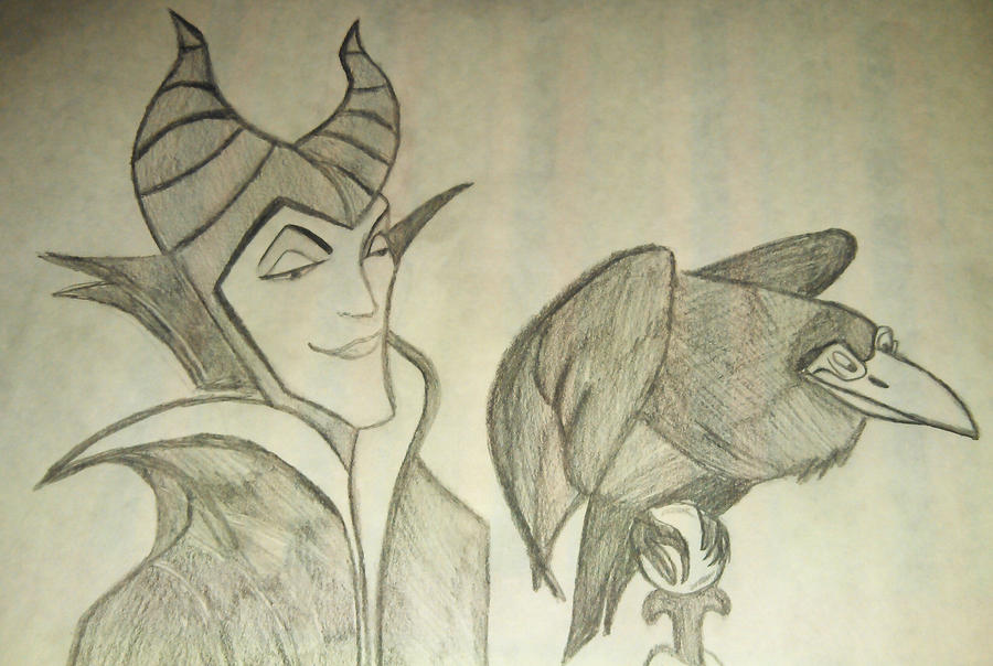 Maleficent. by abumpinthenight