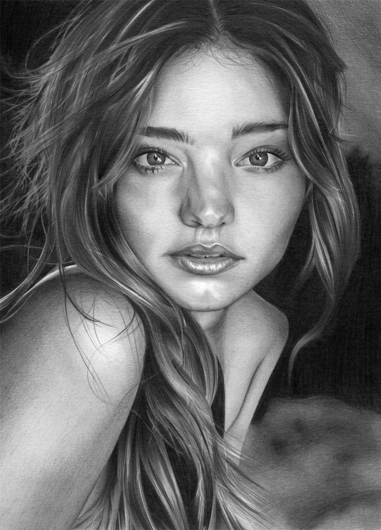 Miranda Kerr by Sophie-Lawson