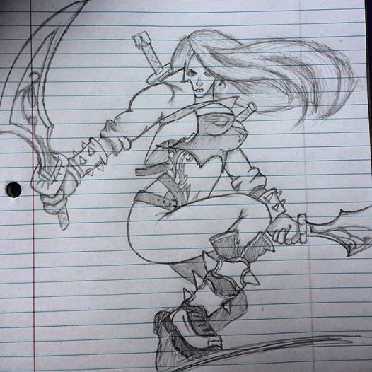 Mercenary Katarina by emi1296