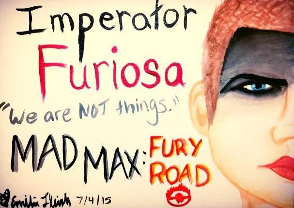 Imperator Furiosa - My Queen in Watercolors by emi1296