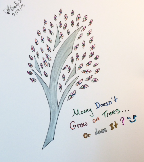 Money Doesn't Grow on Trees...or Does It? by emi1296