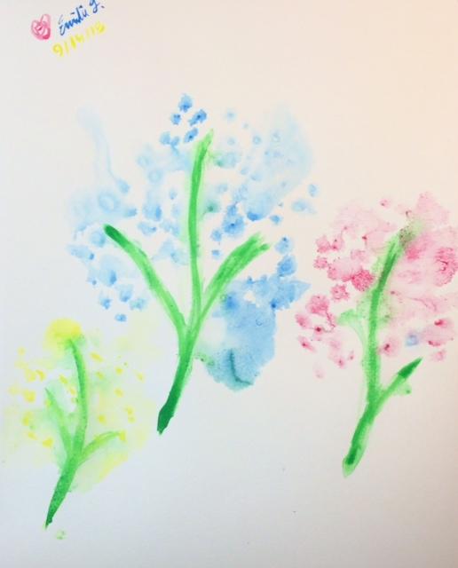 Ink Flowers by emi1296