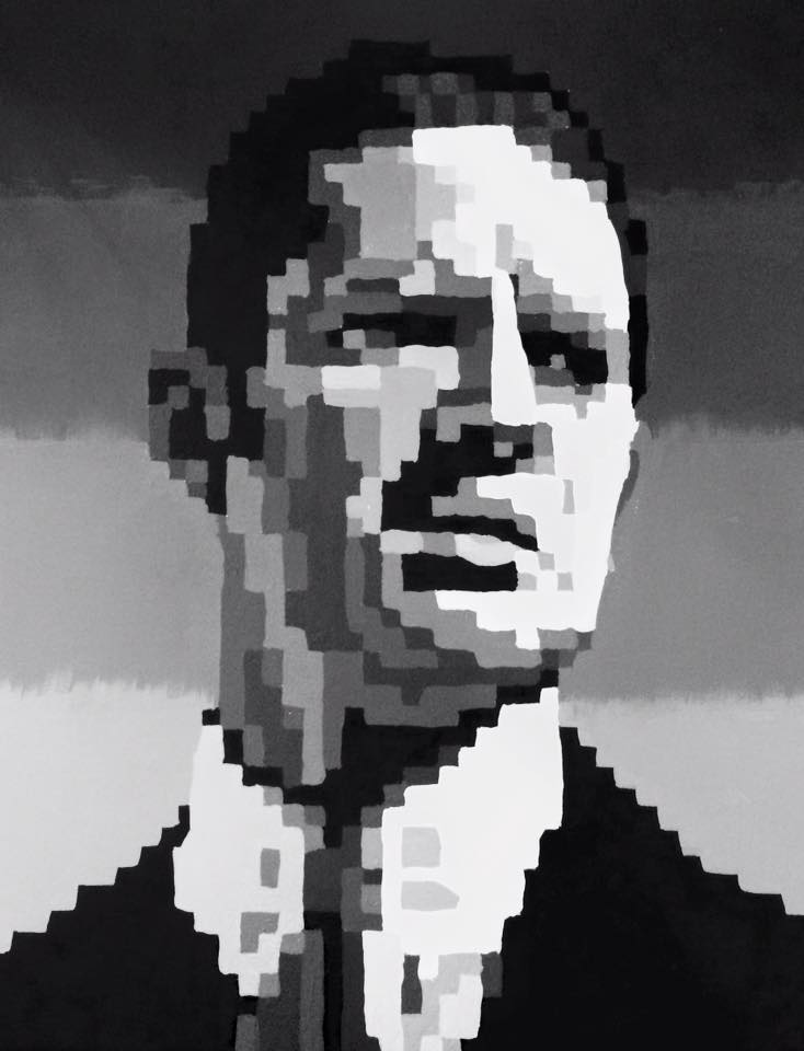 Tom Hardy Pixelated Value Scale by emi1296