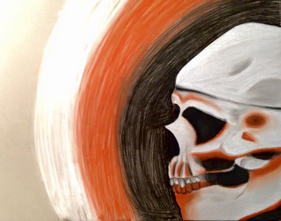 Skull - Conte by emi1296