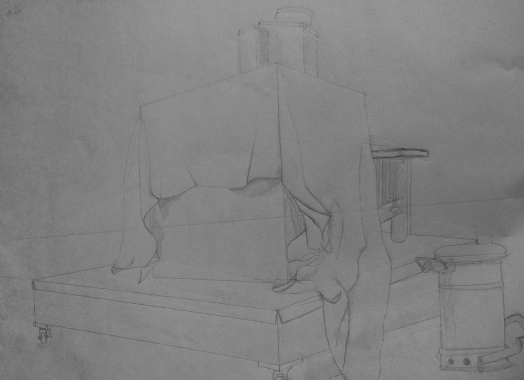Perspective Still Life - Pencil by emi1296