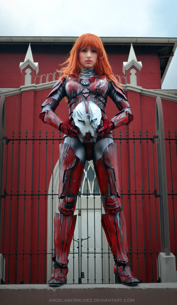 Pepper Potts by AngelaBermudez