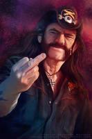 Lemmy Kilmister by AngelaBermudez