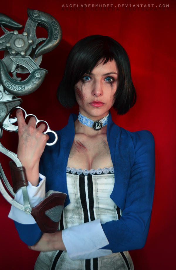 Elizabeth-Skyhook Portrait by AngelaBermudez