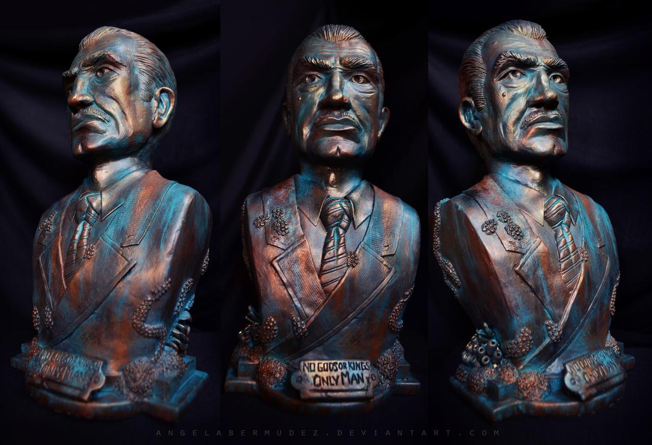 Andrew Ryan Sculpture by AngelaBermudez