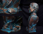 Andrew Ryan Sculpture - Details
