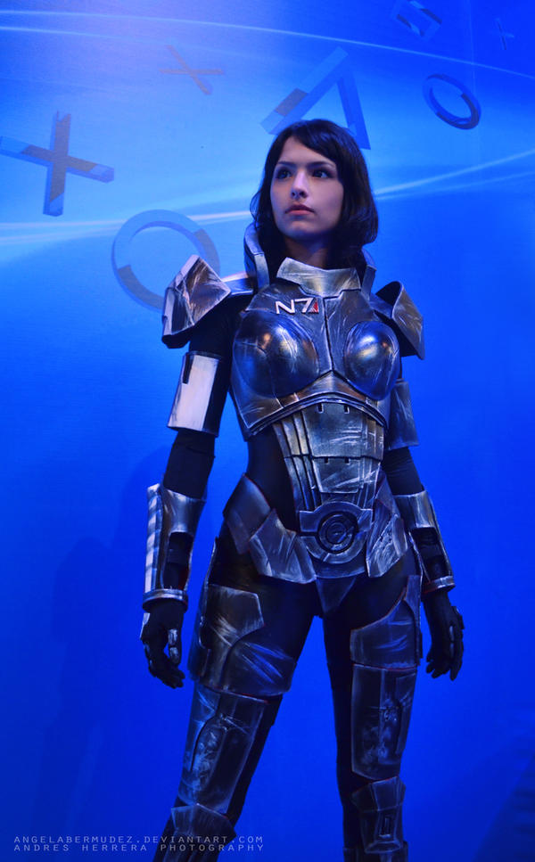 Female Shepard by AngelaBermudez
