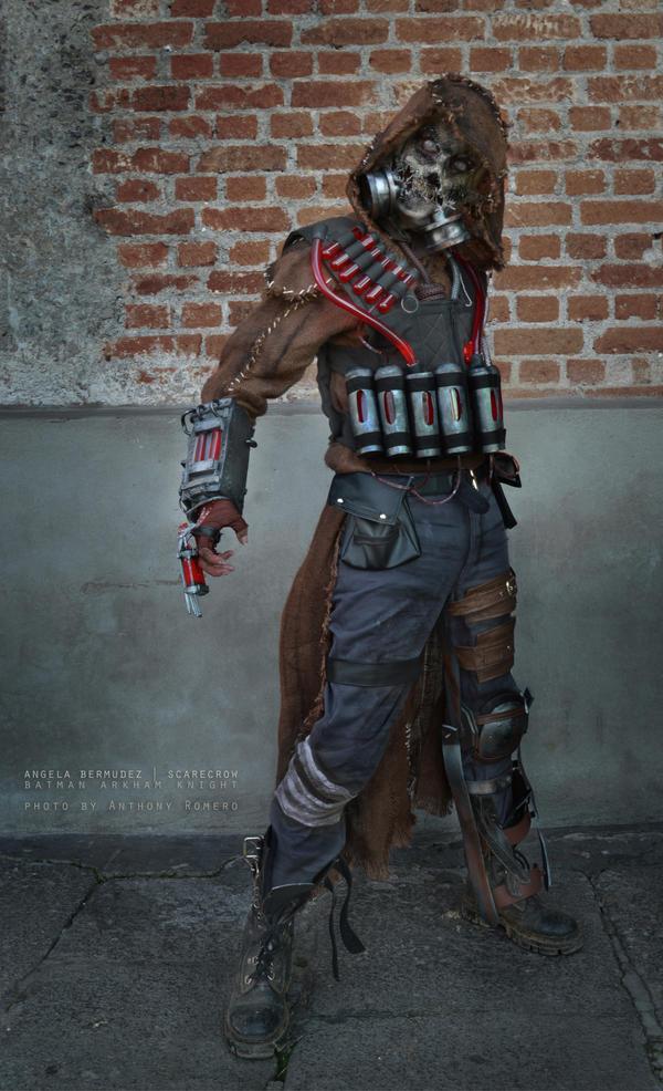 Scarecrow - Batman Arkham Knight by AngelaBermudez