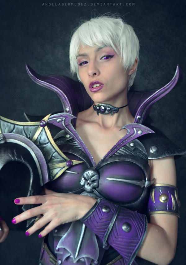 Evil Lyn by AngelaBermudez