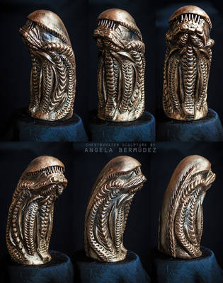 Chestburster Sculpture by AngelaBermudez